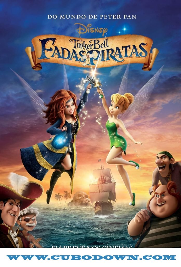 Baixar Torrent Tinker Bell: Fadas e Piratas (2014) Bluray 1080p Dual Áudio – Torrent Download Download Grátis