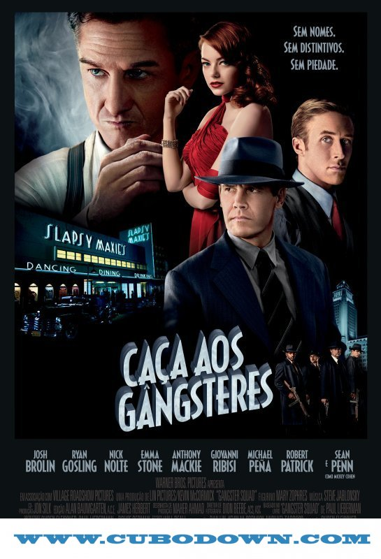 Baixar Torrent Caça aos Gângsteres (2013) BluRay 1080p 5.1 Dublado Torrent Download Download Grátis