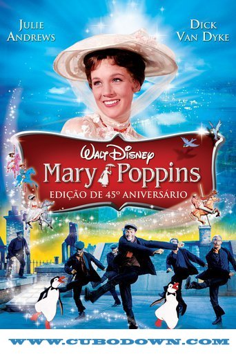 Baixar Torrent Mary Poppins (1964) Bluray 720p Dublado – Torrent Download Download Grátis
