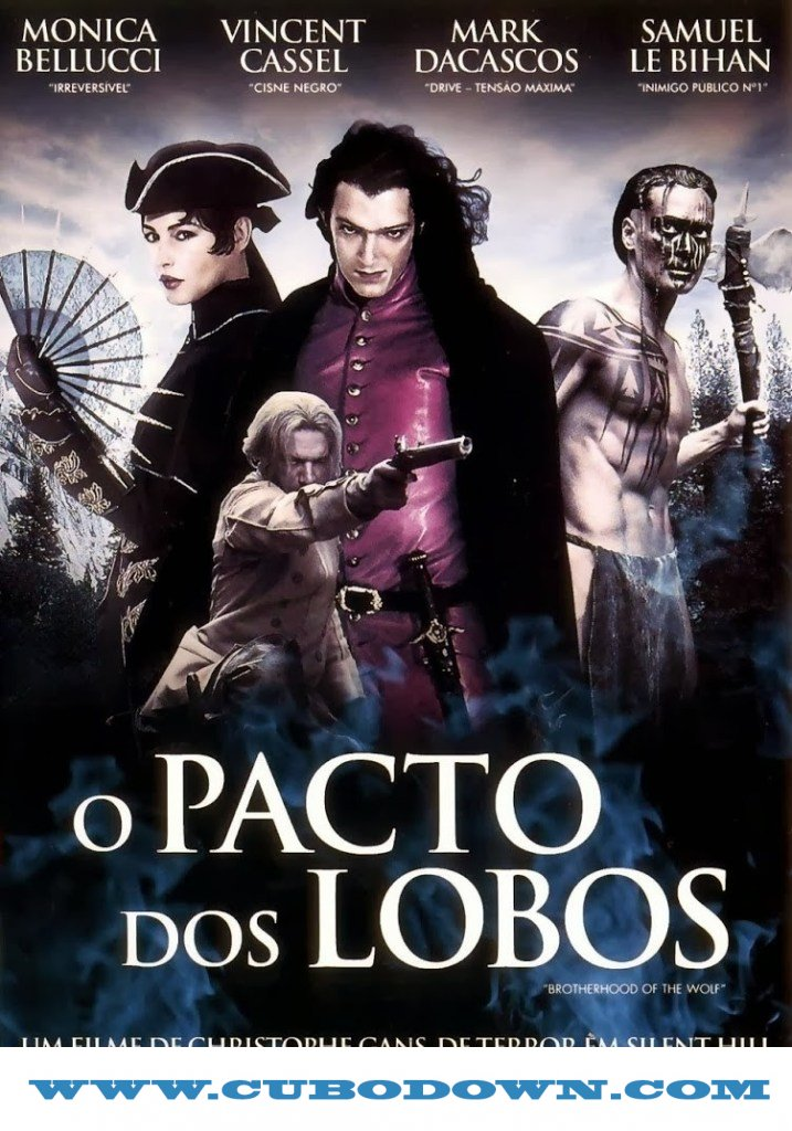 Baixar Torrent O Pacto dos Lobos Bluray 720p Dublado Torrent (2002) Download Download Grátis