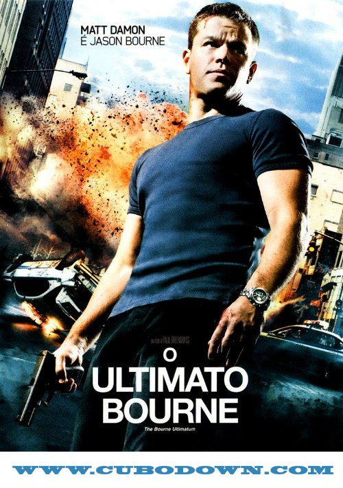 Baixar Torrent O Ultimato Bourne Torrent – BluRay Rip 720p – 1080p Dublado (2007) Download Download Grátis