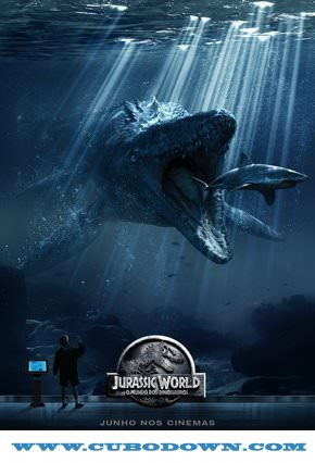 Baixar Torrent Jurassic World O Mundo dos Dinossauros – Torrent (2015) BluRay 720p e 1080p Dual Áudio Download Download Grátis