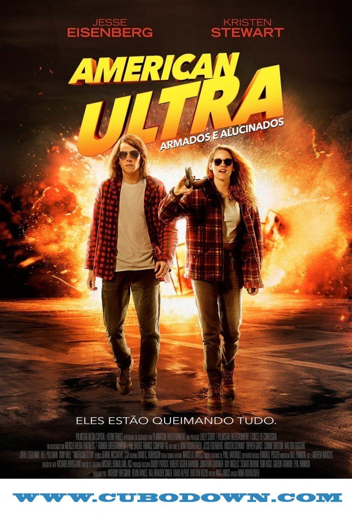 Baixar Torrent American Ultra: Armados e Alucinados (2015) BluRay 720p e 1080p Dual Audio – Download Torrent Download Grátis