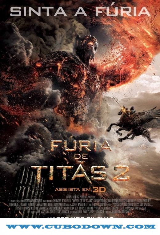 Baixar Torrent Fúria de Titãs 2 Torrent (2012) BluRay 720p – 1080p – 3D HSBS 5.1 Dual Áudio Download Download Grátis