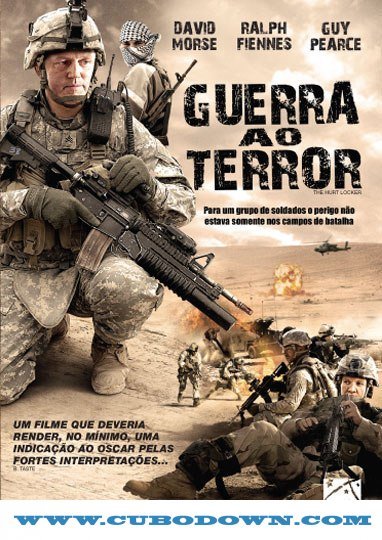 Baixar Torrent Guerra ao Terror Torrent (2010) BluRay 720p 5.1 Dual Áudio Download Download Grátis