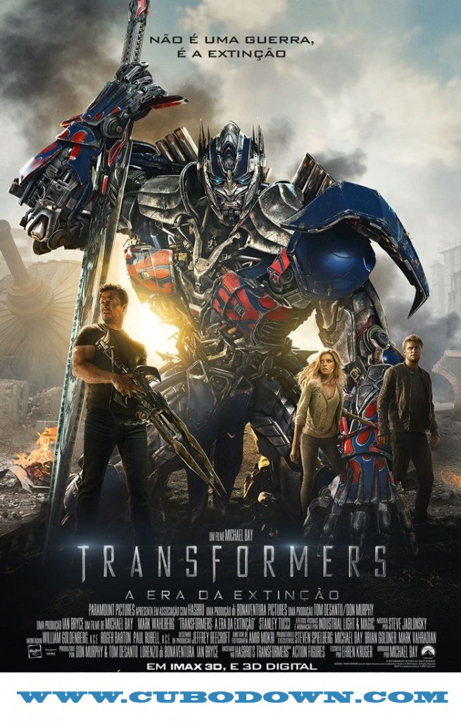 Baixar Torrent Transformers: Era da Extinção – BluRay 3D HSBS (2014) Dual – Download Torrent Download Grátis