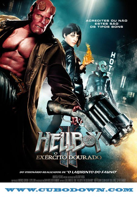 Baixar Torrent Hellboy – Versão do Diretor – BluRay 720p – 1080p 5.1 Dual Áudio Torrent Download (2004) Download Grátis