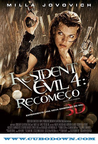 Baixar Torrent Resident Evil 4 Recomeço – BluRay 3D HSBS (2010) Dublado – Download Torrent Download Grátis