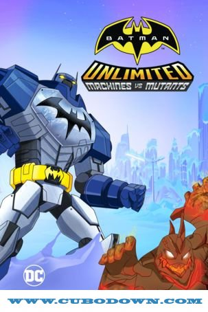 Baixar Torrent Batman Sem Limites: Mechas vs. Mutantes Torrent – BluRay 720p e 1080p Dual Áudio 5.1 Download (2016) Download Grátis