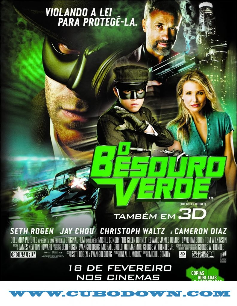 Baixar Torrent O Besouro Verde (2011) – BluRay 720p, 3D HSBS Dublado – Download Torrent Download Grátis