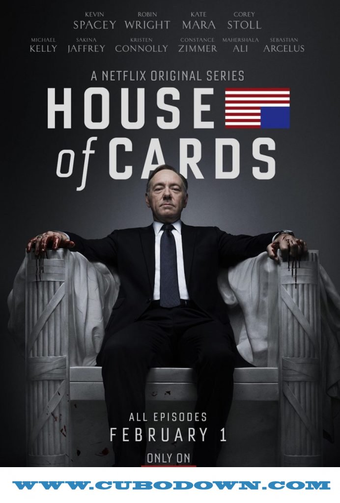 Baixar Torrent House Of Cards 1ª Temporada – Torrent Download – Bluray 720p Dublado (2013) Download Grátis