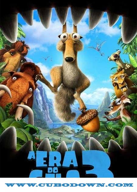 Baixar Torrent A Era do Gelo 3 – BluRay 3D HSBS (2009) Dual 5.1 – Download Torrent Download Grátis