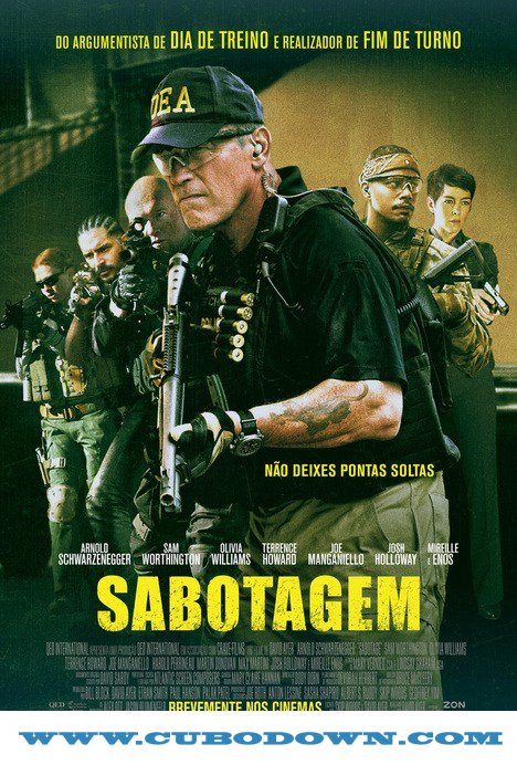 Baixar Torrent Sabotagem (2014) Bluray 1080p Dual Áudio – Torrent Download Download Grátis