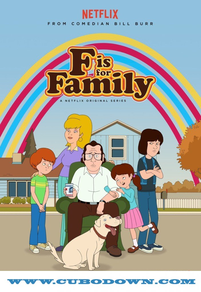 Baixar Torrent F is for Family 1ª Temporada (2016) Dual Áudio – Torrent Download Download Grátis