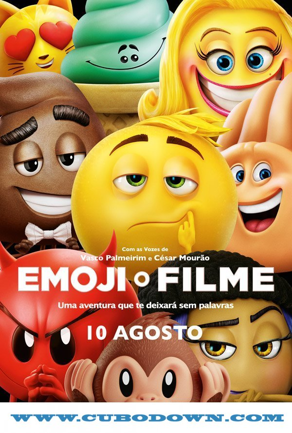 Baixar Torrent Emoji – O Filme (2017) Dublado / Dual Áudio BluRay 720p | 1080p – Torrent Download Download Grátis