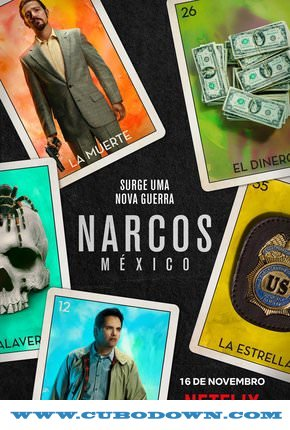 Baixar Torrent Narcos México – 1ª Temporada Completa Torrent (2018) Dual Áudio / Dublado WEB-DL 720p – Download Download Grátis