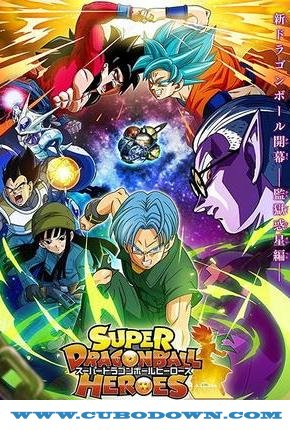 Baixar Torrent Super Dragon Ball Heroes Torrent (2018) Dublado / Legendado WEB-DL 720p – Download Download Grátis