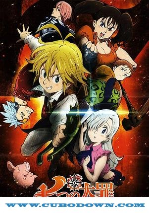 Baixar Torrent The Seven Deadly Sins 1ª 2ª e 3ª Temporada Completa Torrent (2019) Dublado WEB-DL 720p – Download Download Grátis